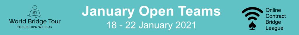 OCBL January Open Teams