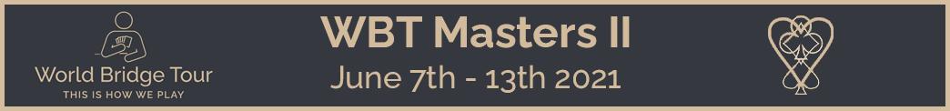 WBT Masters II banner image